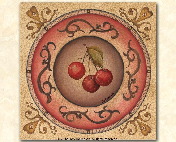 Cherry Plate III