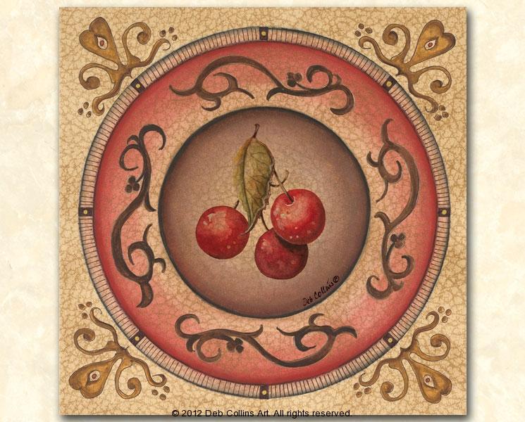 Cherry Plate I