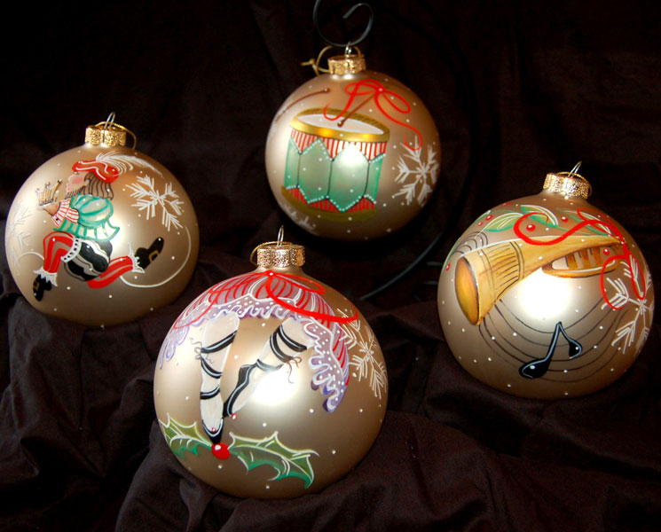 Christmas Ornaments – Deb Collins Art